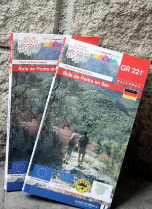 Der neue Wanderführer erschien in einer Auflage von 2000 Exemplaren.