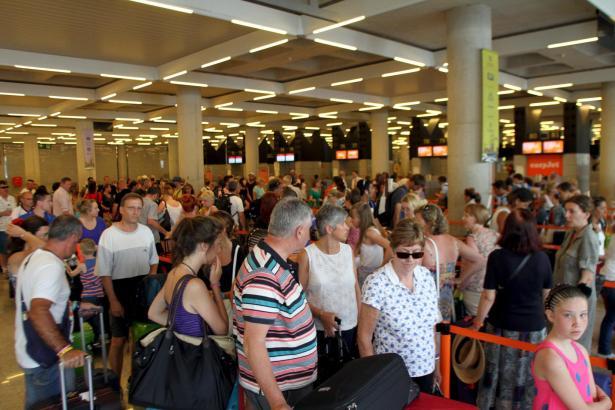Besonders im Sommer herrscht Hochbetrieb am Flughafen von Palma.