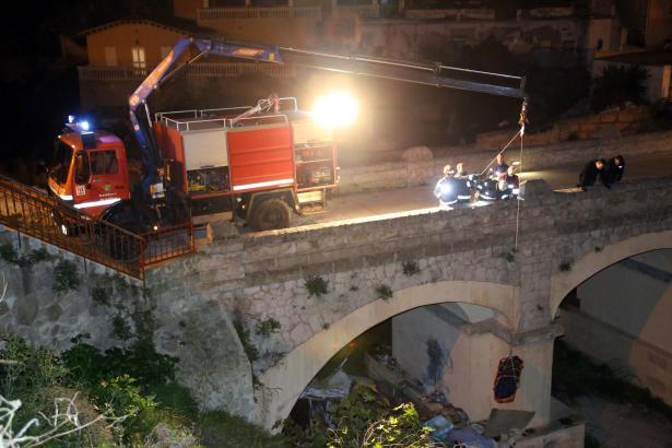 Die Brücke befindet sich an der Grenze der beiden Stadtteile El Terreno und Bonanova in Palma.