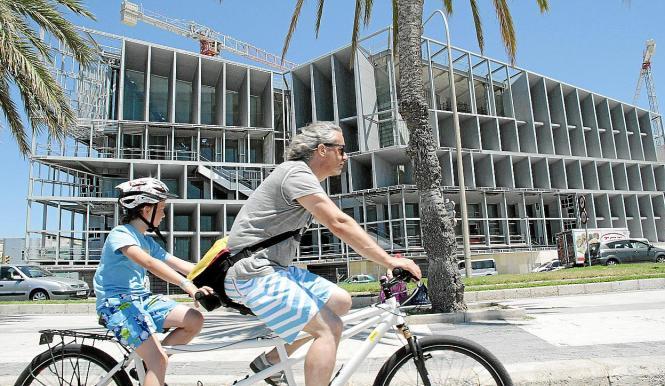Soll von 2016 an jährlich rund 65.000 Besucher im Jahr anlocken: Palmas Kongresspalast.