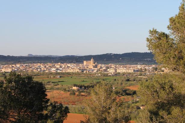 Porreres im Inselinnern von Mallorca.