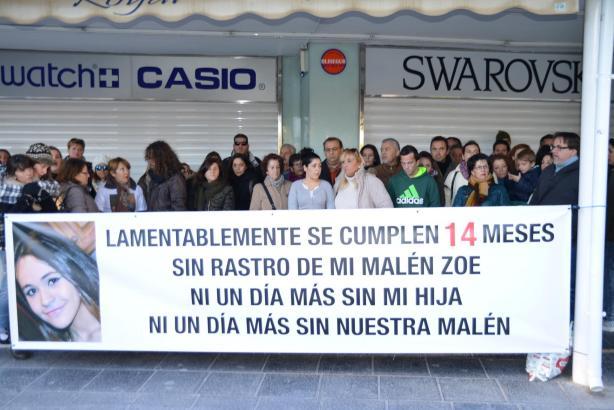 Rund 50 Menschen waren bei der Demonstration in Santa Ponça dabei.