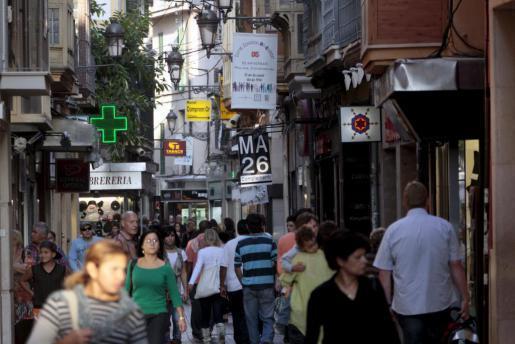 Die Vía Sindicat ist eine der belebten und beliebten Einkaufsstraßen in Palmas Altstadt. Hier wurden die Lose verkauft.