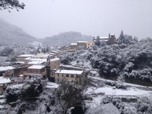 Die Gegend um Orient in Mallorcas Inselmitte hat es besonders schwer erwischt.