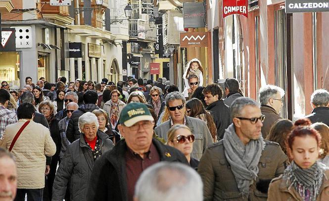 Palma zieht vor allem Spanier, Italiener und Deutsche an.
