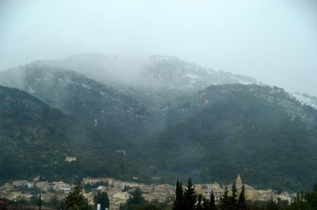 Nicht nur auf dem Foto sieht Mallorca richtig kalt aus.