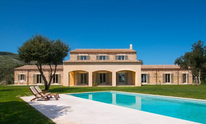 Luxusobjekt unter den Ferienimmobilien auf Mallorca.