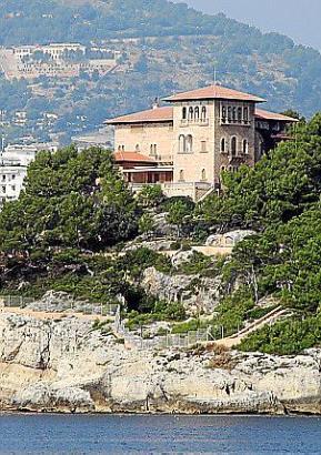Der Marivent-Palast vor den Toren Palmas ist die Sommerresidenz des Königs.