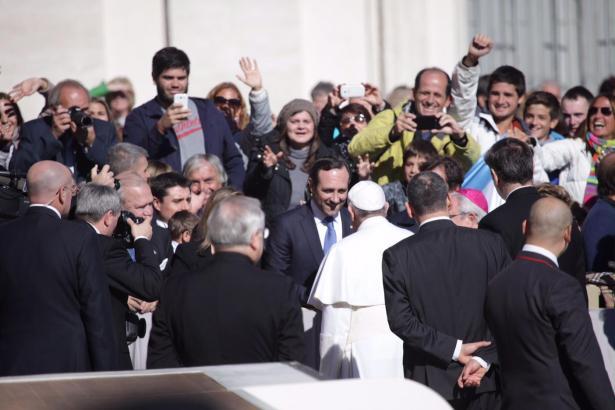 José Ramón Bauzá hat in Rom Papst Franziskus I. getroffen.