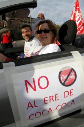 Dieser Fall sorgte im März 2014 für Aufsehen: Die Kündigung der Coca-Cola-Mitarbeiter in Palma.