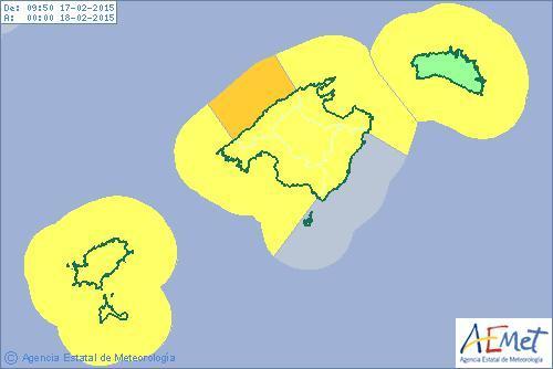 Auf Mallorca wird es regnerisch und stürmisch.