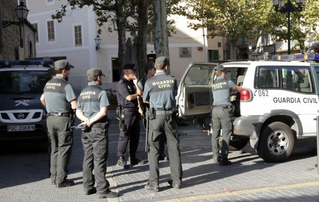 Die Guardia Civil auf Mallorca musste einschreiten.