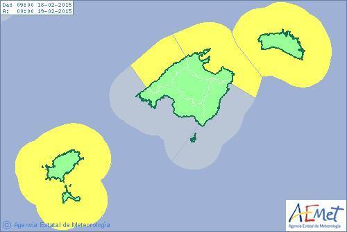 Nur noch im Westen und Norden wird vor hohen Wellen gewarnt.