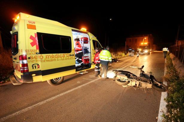 Der junge Mann starb noch an der Unfallstelle.