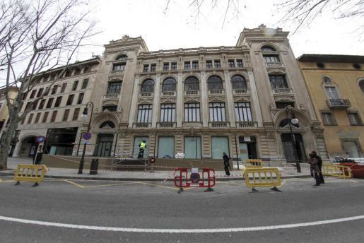 Das ehemalige Borne-Kino am Paseo del Borne in Palma beherbegt heute das Modegeschäft Zara.