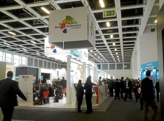 Im Vorjahr präsentierte sich Mallorca als Urlaubsregion in der Spanienhalle (Halle 4.2). Foto: UH