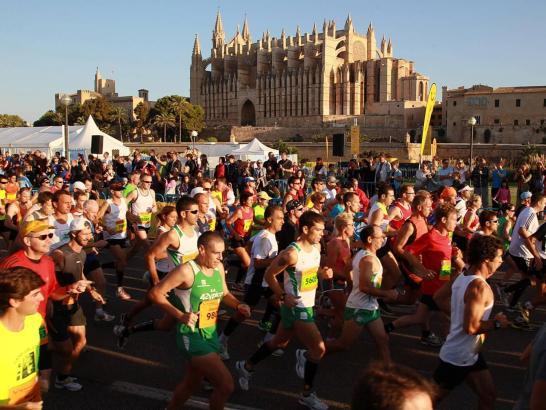 """Eine der vielen Aktiv-Events, die in Palma 2015 stattfinden werden: die Laufveranstaltungen """"Passion for Running""""."""