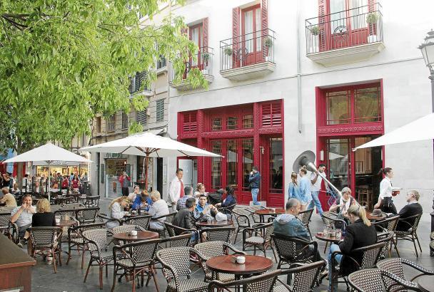 Der City-Tourismus gewinnt in Palma immer mehr an Zulauf - auch dank einer Vielzahl von neuen, schicken Hotels in der Innenstad
