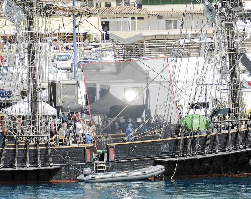 """Dreharbeiten 2011 zum Film """"Cloud Atlas"""" in Sóller."""
