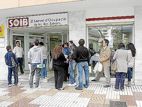 Die Schlange der Jobsuchenden auf Mallorca wird kürzer.