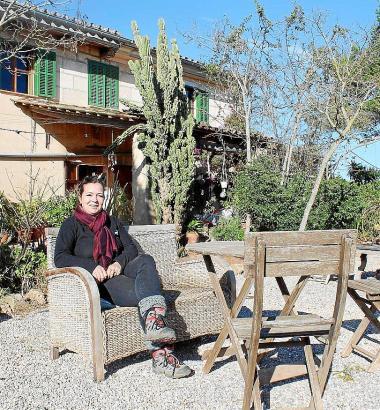"""Die Hausherrin und ihr Hof: Angela Nitschke ist stolz auf ihr Landhaus, aber sie gibt zu: """"Eine Finca macht schon sehr viel Arbe"""
