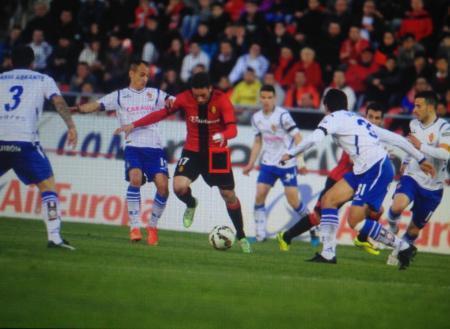 Mallorcas Arana (Nummer 17) traf den entscheidenen Elfmeter zum 3:2-Endstand.