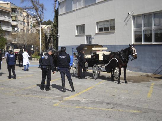 Die technische Inspektion findet am Sitz der Lokalpolizei in der Sant-Ferran-Straße statt.