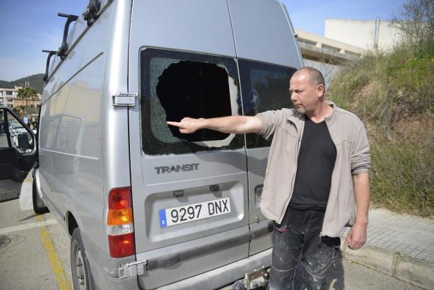 Der deutsche Handwerker, der jetzt nicht mehr arbeiten kann.