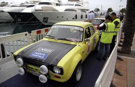 Liebhaber-Autos bei der Rally Clásico Mallorca 2015