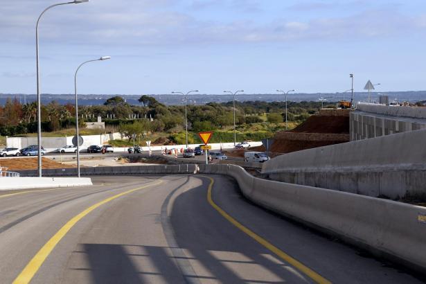 Die neue Ausfahrt in Richtung El Molinar.