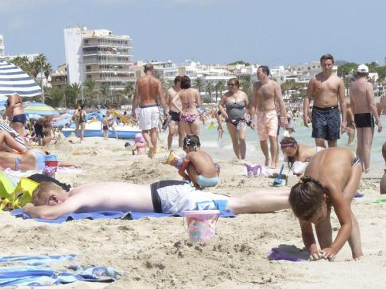 Cala Millor lockt einer Studie zufolge im Sommer vor allem Familien an.