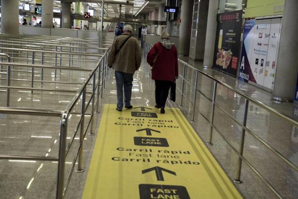 Der neue Schnellweg am Airport von Palma.