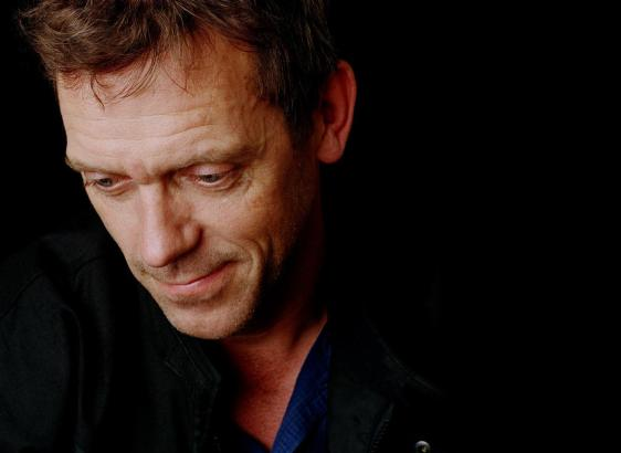 """Hugh Laurie wurde in der Rolle des """"Dr. House"""" bekannnt."""