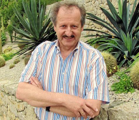 Mal wieder zu Besuch auf Mallorca: Emil Pallays Familie hat ein Haus in Camp de Mar, wo der Ex-Polizist vier- oder fünfmal pro J