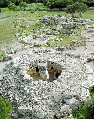 Der runde Turm in Son Fornés war einst zweistöckig und bestand aus 2000 Tonnen Stein.