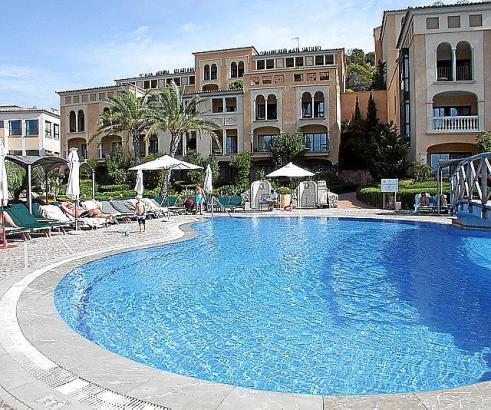 Das zukünftige Steigenberger-Hotel in Camp de Mar wurde 2001 als Dorint eröffnet und hat 164 Zimmer.