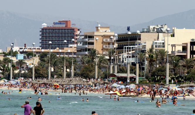 Der Wandel an der Playa de Palma (Archivfoto) ist in vollem Gange.