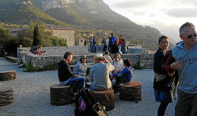 Der Aussichtspunkt Mirador de Sa Forada auf Mallorca.