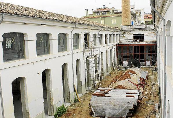 Die Fabrik stammt aus den 1920er Jahren.