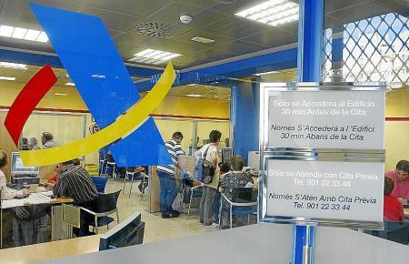 Die Finanzbehörde in Palma de Mallorca befindet sich in der Straße Cecili Metel Nr. 9.