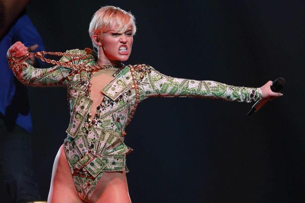 Miley Cyrus liebt provokante Auftritte.