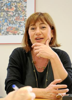 Francina Armengol ist Spitzenkandidatin der Sozialisten (PSIB) auf den Balearen.