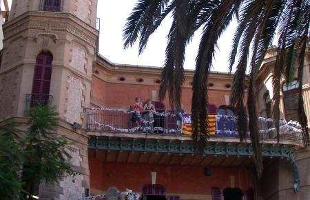 Das Archivfoto zeigt ein Schulfest des Eurocampus im Gebäude der Schwedischen Schule.