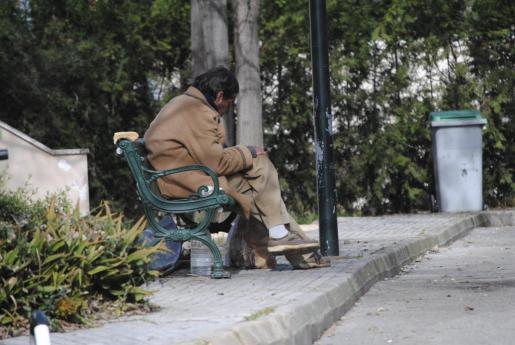 Zum zweiten Mal in einem Monat kam es offenbar zu einer Gewalttat gegen einen Obdachlosen (Symbolfoto).
