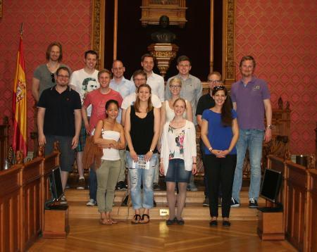 Jura-Studenten aus Bonn besuchten Mallorcas Inselrat.