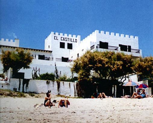 "Das Hotel ""El Castillo"" Ende der 1950er Jahre."