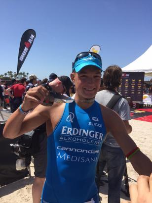 Andreas Dreitz freut sich über den zweiten Sieg auf Mallorca.