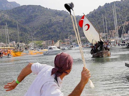 Mallorcas schönstes Piratenfest ist problemlos zu Ende gegangen.