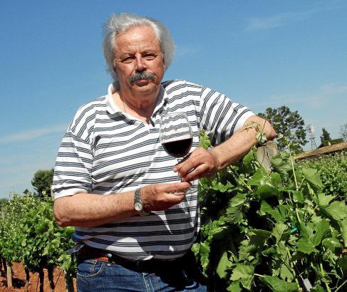 Der 68-Jährige zu Besuch bei den Bodegas Macià Batle in Santa Maria.