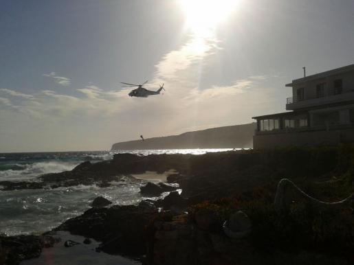 Erst mit einem Helikoptereinsatz gelang die Bergung.